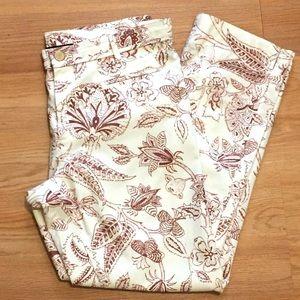 Isabel Marant Women's Floral Print Ankle Pants - M